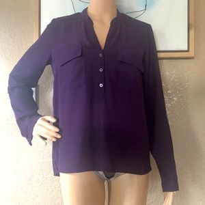 Forever 21 Purple Blouse
